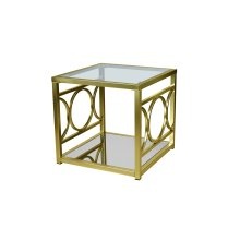 Augustine Gold End Table