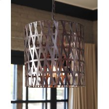 Metal Pendant Light (1/CN) Pendant Light - Antique Copper Finish Collection Ashley at Aztec Distribution Center Houston Texas