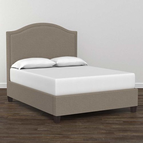 Custom Uph Beds Princeton Queen Step Rectangular Bed