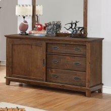 Kinsley Country Brown Dresser