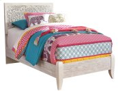 Paxberry - White Wash 2 Piece Bed Set (Twin)