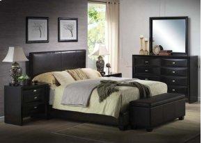 Kit - Black Queen Bed