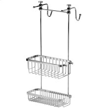 Chrome Plate Adjustable shower caddy
