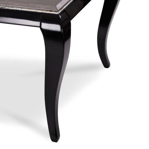 Titanium 4 Leg Rectangular Dining Table