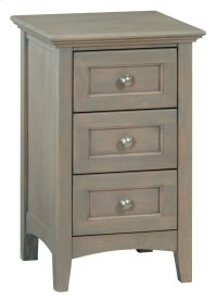 FST Small 3-Drawer McKenzie Nightstand Product Image