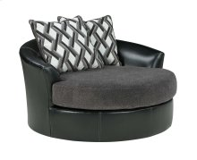 Oversized Swivel Accent Chair