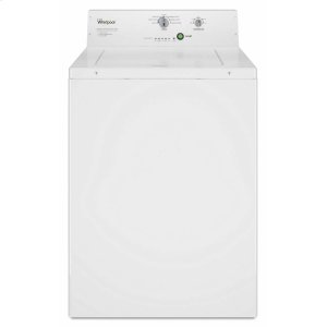 Commercial Top-Load Washer, Non-Vend White -