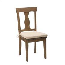 Slater Mill Reclaimed Pine Splat Back Dining Chair