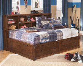 Delburne - Medium Brown 3 Piece Bed Set (Full)