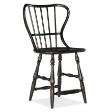 Dining Room Ciao Bella Spindle Back Counter Stool-Black