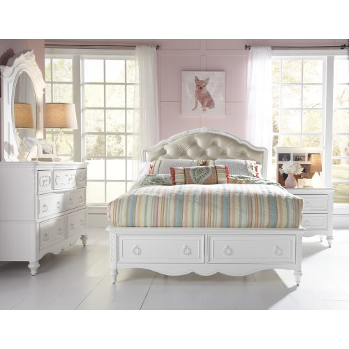 SweetHeart Upholstered Headboard Full