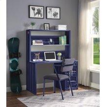 BLUE COMPUTER DESK