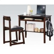 Espresso 2pc Pk Desk , Chair Product Image