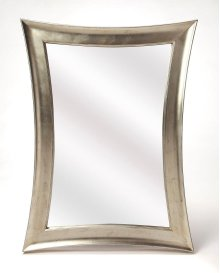 This mirror is the perfect piece to bring dimension and depth to your space. Effortless elegance is this mirror with it concave sides, set in your hall or entryway for that last touch up, or hang it in your living room as a finishing touch.