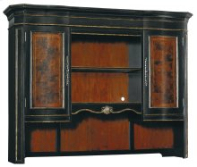 Home Office Grandover Computer Credenza Hutch