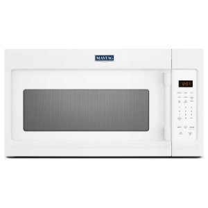 Compact Over-The-Range Microwave - 1.7 Cu. Ft. White -