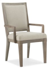 Dining Room Pacifica Upholstered Arm Chair
