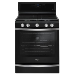 5.8 Cu. Ft. Freestanding Gas Range with EZ-2-Lift Hinged Grates - BLACK ICE