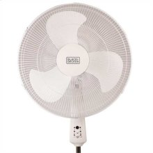 18 In. Stand Fan with Remote, White