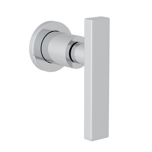 Polished Chrome Pirellone Trim For Volume Control And Diverter