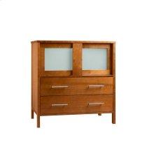 "Minerva 31"" Bathroom Vanity Base Cabinet in Cinnamon"