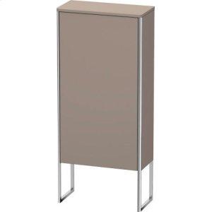 Semi-tall Cabinet Floorstanding, Basalt Matt (decor)