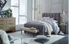 Loft Bed Queen Drk Gray