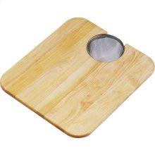 "Elkay Hardwood 14-1/2"" x 17"" x 3/4"" Cutting Board"