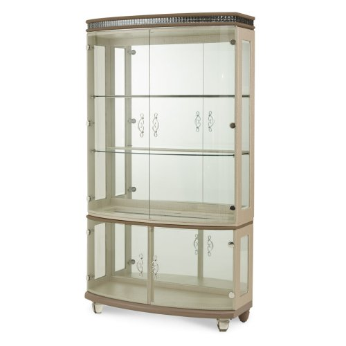 Upholstered Curio
