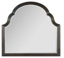 Bedroom Treviso Shaped Landscape Mirror