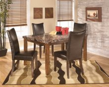 Lacey - Medium Brown 5 Piece Dining Room Set