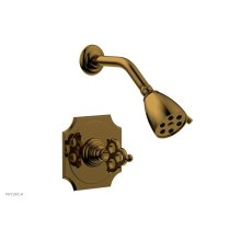 MAISON Pressure Balance Shower Set 164-21 - French Brass