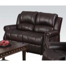 Brown Motion Loveseat