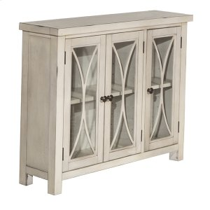 Hillsdale FurnitureBayside 3 Door Cabinet - Antique White
