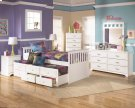 Lulu - White 7 Piece Bedroom Set Product Image