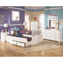 Lulu - White 8 Piece Bedroom Set