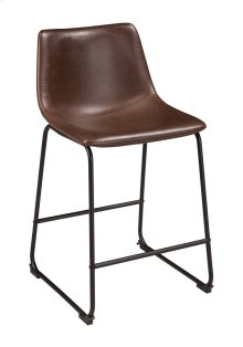 Centiar - Two-tone Brown Set Of 2 Dining Room Barstools