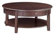 "CAF McKenzie Round Cocktail Table (40""D) Product Image"