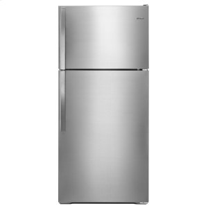 28-inch Wide Top Freezer Refrigerator - 14 cu. ft. - MONOCHROMATIC STAINLESS STEEL