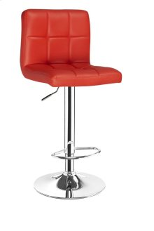 Ennis Red Bar Stool