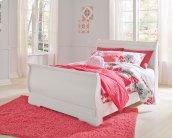 Anarasia - White 3 Piece Bed Set (Full)