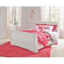 Anarasia - White 3 Piece Bed Set (Full)