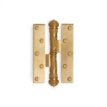 Antique Gold Empire Paumelle Hinge