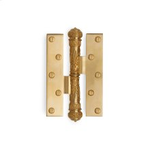 Antique Gold Empire Paumelle Hinge