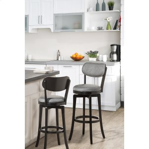 Hillsdale FurnitureSloan Swivel Counter Stool - Black Pewter