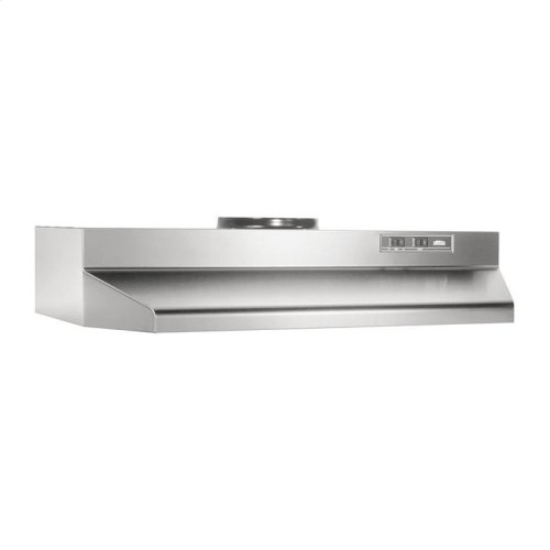 "24"", Stainless Steel, Under-Cabinet Hood, 190 CFM"