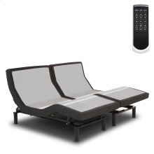 Prodigy 2.0 Adjustable Bed Base with MicroHook Retention System, Charcoal Black Finish, Split California King