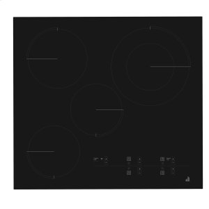 "Jenn-AirOblivian Glass 24"" Electric Radiant Cooktop With Glass-Touch Electronic Controls Black"