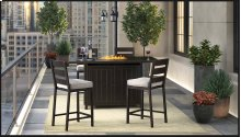 Perrymount - Brown 4 Piece Patio Set