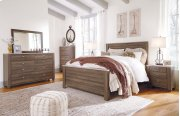 Birmington - Brown 3 Piece Bed Set (Queen) Product Image